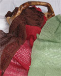 Lace handwoven scarves