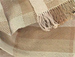 handwoven organic cotton scarves