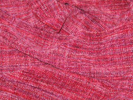 poinsettia handwoven rayon chenille scarves